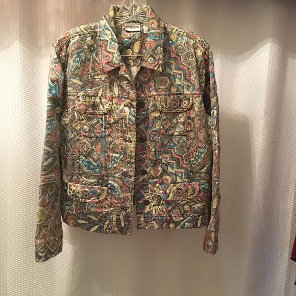 Chico's Jackets & Blazers - Chicos Boho Jacket